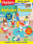 Highlights Hidden Pictures Alphabet Puzzles