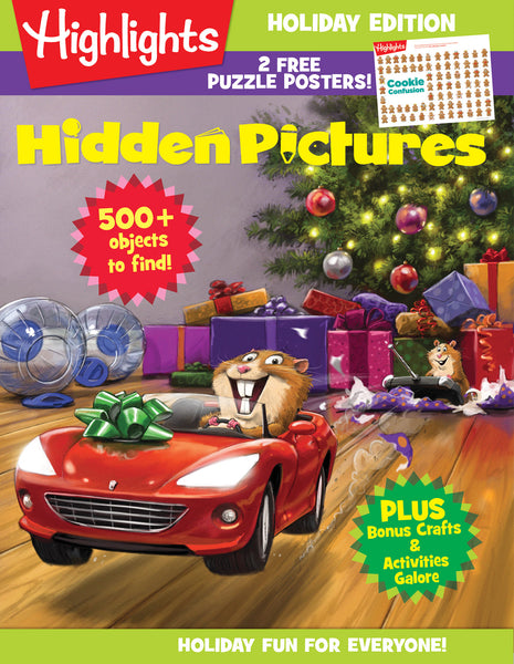 Highlights Hidden Pictures Holiday Edition