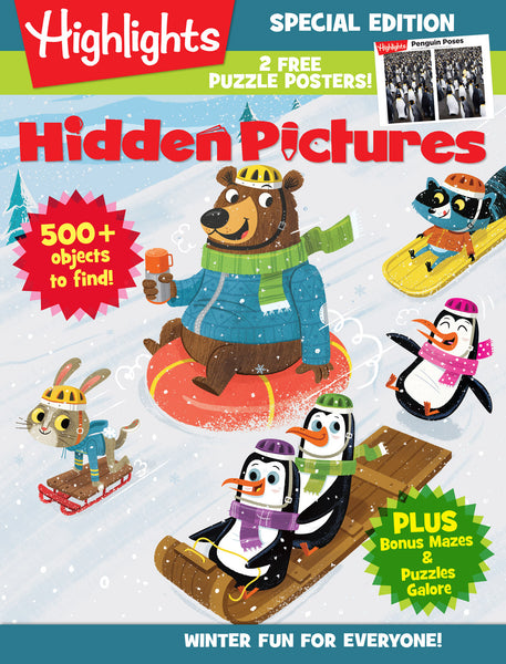 Highlights: Hidden Pictures—Winter Fun