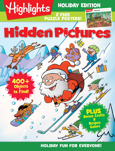 Highlights: Hidden Pictures—Holiday Fun