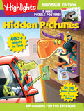 Highlights Hidden Pictures Dinosaur Edition Cover