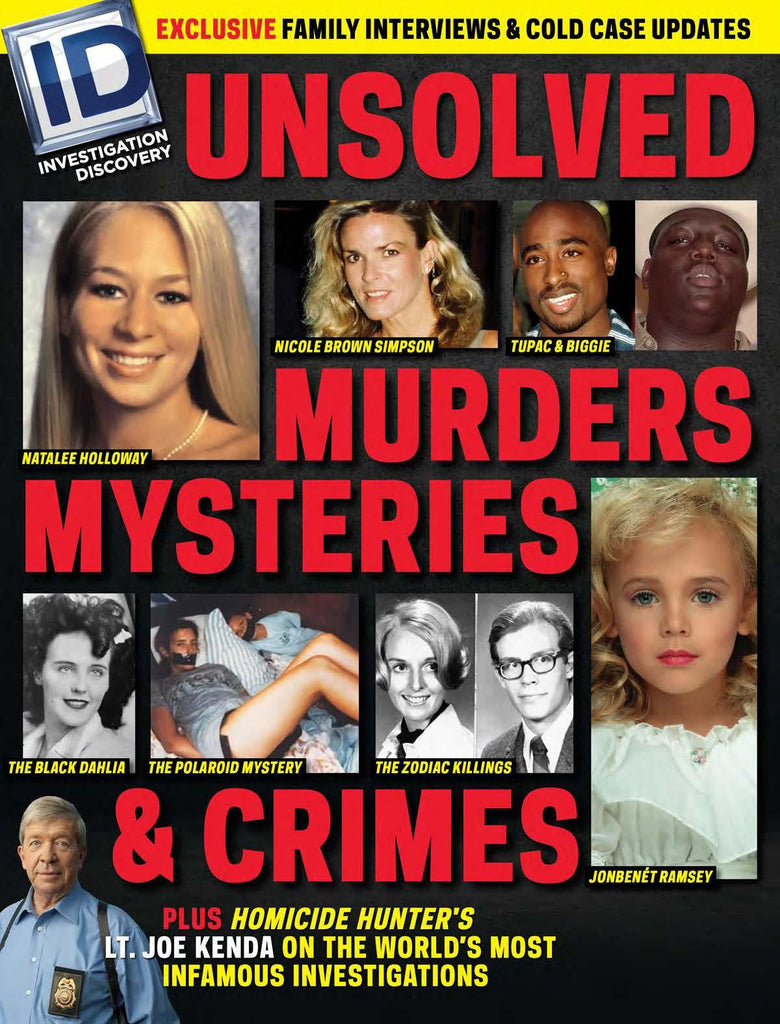 Investigation Discovery: Unsolved—Murders, Mysteries and Crimes