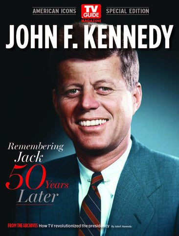 TV Guide Magazine: John F. Kennedy