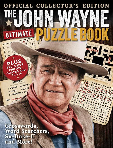 John Wayne:  Ultimate Puzzle Book