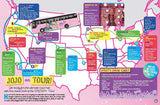 JoJo Siwa 2019 Tour map