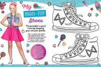 JoJo Siwa high tops activity spread