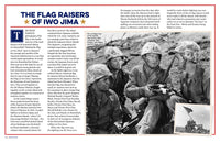 The Flag Raisers of Iwo Jima entry in John Wayne's Book of American Grit