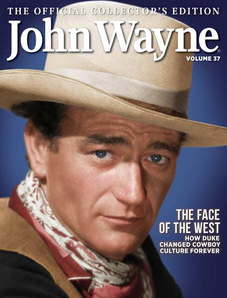 John Wayne: The Official Collector's Edition Volume 37—The Face of the West