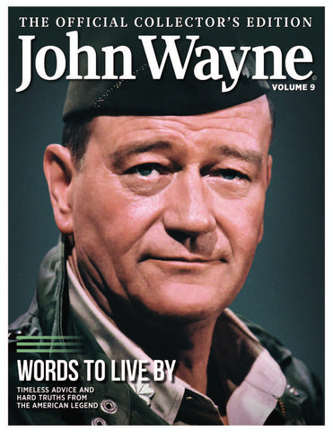 John Wayne: The Official Collector's Edition Volume 9—Words to Live By