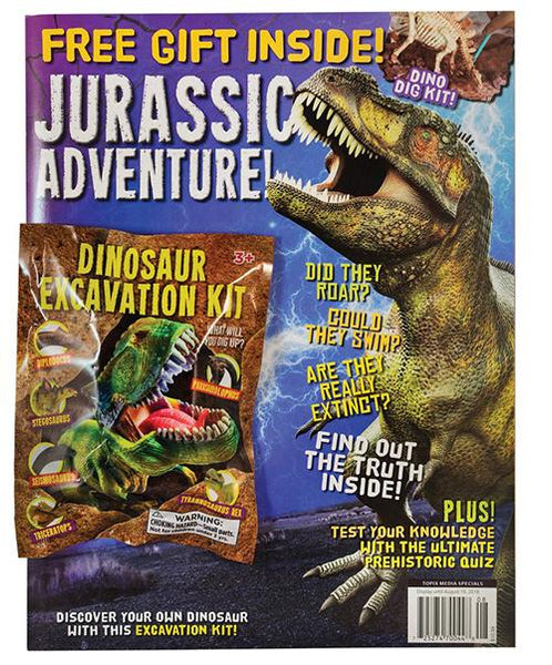 Jurassic Adventure! with Dinosaur Excavation Kit
