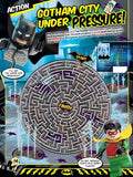 LEGO Batman magazine maze activity