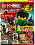 LEGO Ninjago cover with Ninja Cole minifigure