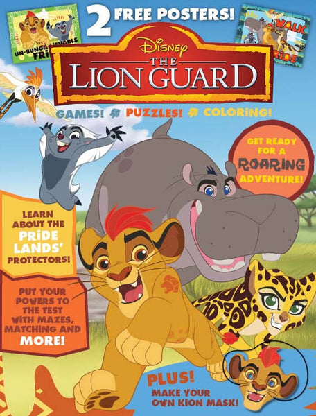 Disney The Lion Guard Activity Book Media Lab Publishing
