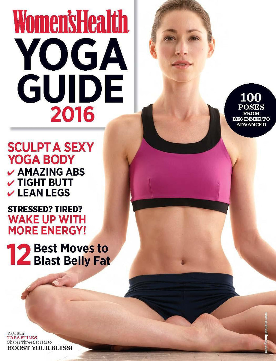 Women S Health Yoga Guide 2016 Media Lab Publishing
