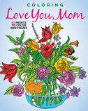 Coloring Love You Mom Cover