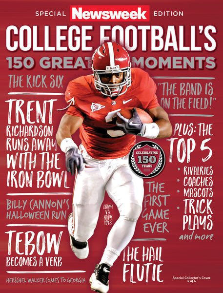 Newsweek College Football Trent Richardson cover