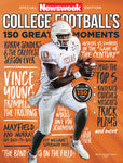 Newsweek College Football Vince Young cover