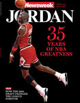 Newsweek Jordan 35 Years of Greatness Cover