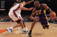Newsweek Kobe Bryant in action spread