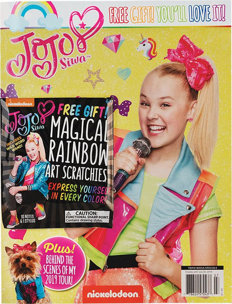 Nickelodeon: JoJo Siwa with Free Art Scratchies!