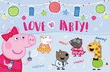 Peppa Pig Love to Party Magazine Spread