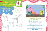 Peppa Pig Letter Practice Magazine Spread