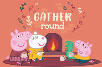 Peppa Pig Gather Round Magazine Spread