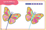 Peppa Pig Spot the Difference Butterfly
