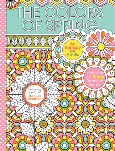 The Colors of Spring: Coloring Art Therapy for Adults