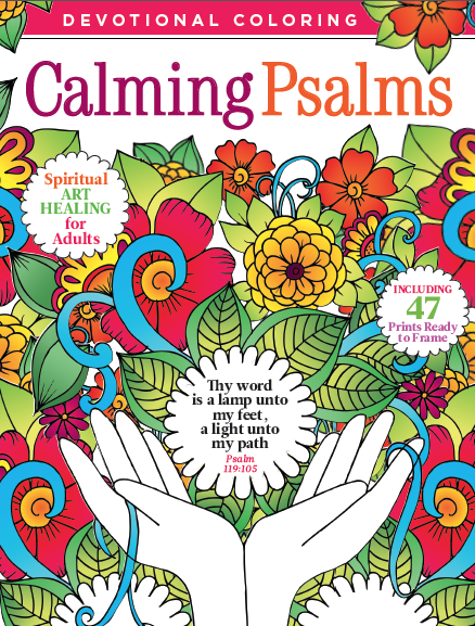 Devotional Coloring: Calming Psalms