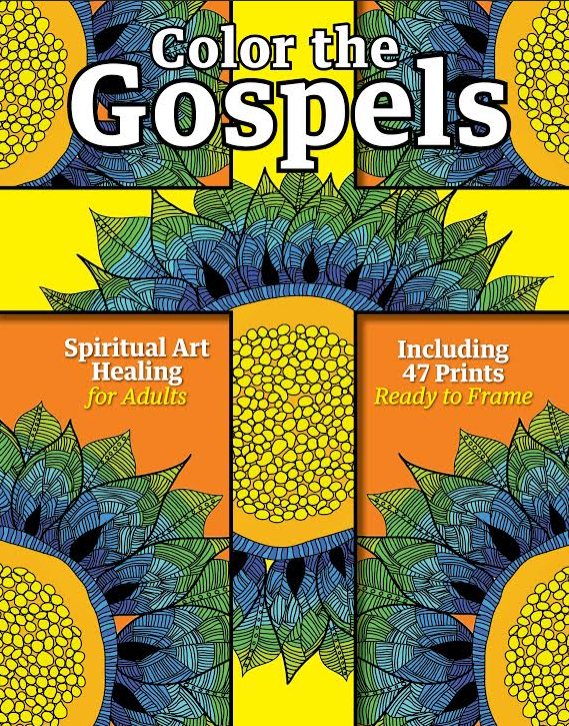 Color the Gospels: Spiritual Art Healing for Adults