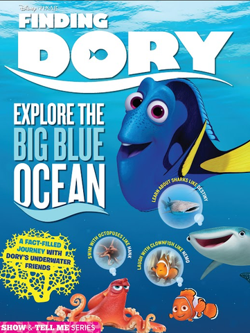 Disney: Finding Dory—Explore the Big Blue Ocean