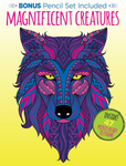 Kaleidoscope Coloring: Magnificent Creatures with 12 Pencils!