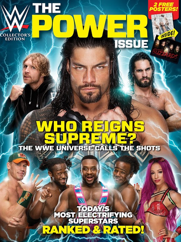 WWE: The Power Issue 2016