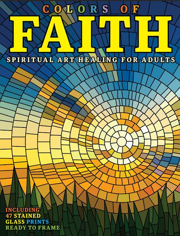Colors of Faith: Spiritual Art Healing for Adults