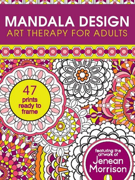 Mandala Design: Coloring Art Therapy for Adults