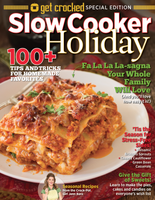 Get Crocked: Slow Cooker— Holiday
