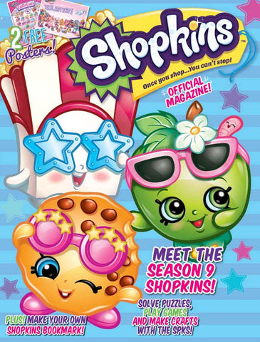 Shopkins Official Magazine—Meet the Season 9 Shopkins!