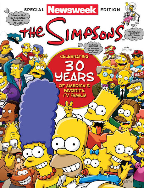 Newsweek: The Simpsons—Celebrating 30 Years of America's Favorite TV Family