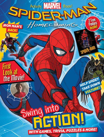 Marvel: Spider-Man Homecoming—Activity Book