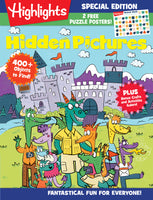 Highlights: Hidden Pictures-Fantastical Fun for Everyone!