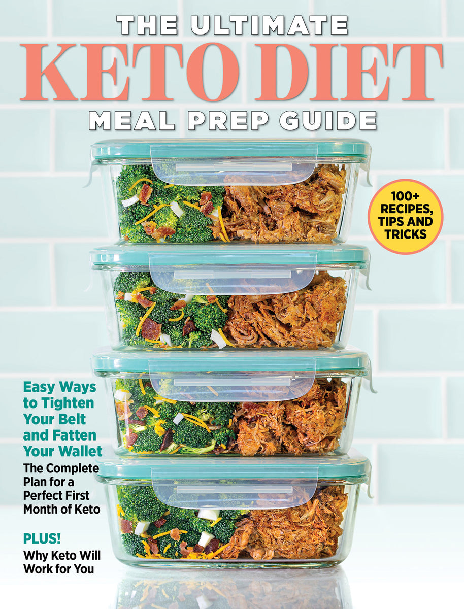 The Ultimate Keto Diet Meal Prep Guide Media Lab Publishing