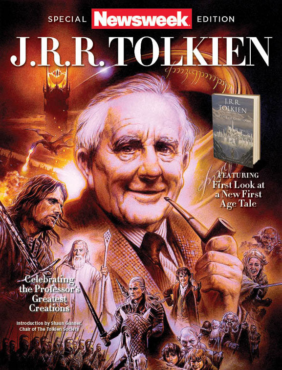 Newsweek J R R Tolkien Celebrating The Professor S
