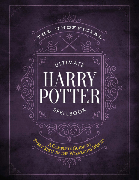 Ultimate Unofficial Harry Potter Spellbook Cover