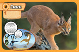 Wild Kratts Extreme Predators Magazine Caracal Spread