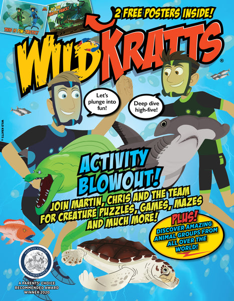 Wild Kratts—Activity Blowout