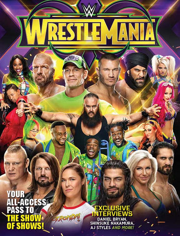 WWE: WrestleMania 34 Special Collector's Edition