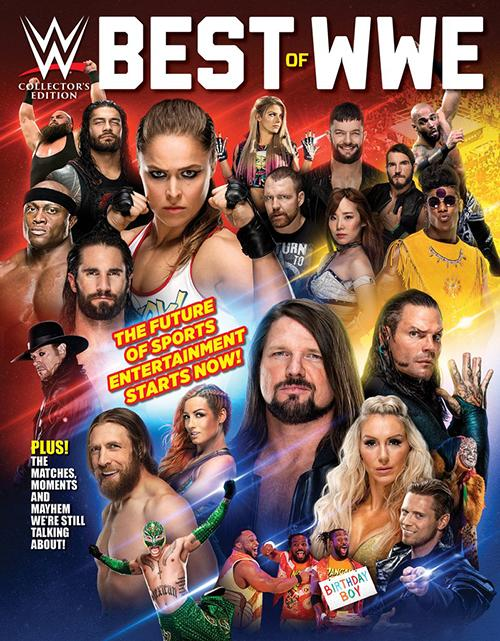 Wwe Best Of Wwe 2019 Media Lab Publishing