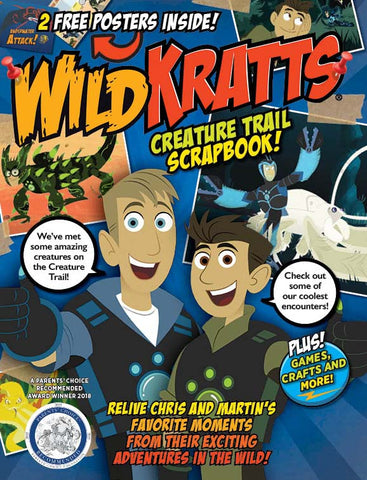Wild Kratts—Creature Trail Scrapbook!