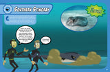 Wild Kratts Hiders and Seekers Magazine Southern Stingray Spread
